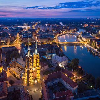 Słynne Wyspy Wrocławia
