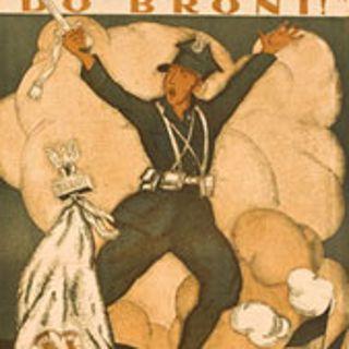 Plakaty patriotyczne z daru prof. Mariana Morelowskiego w Muzeum Narodowym
