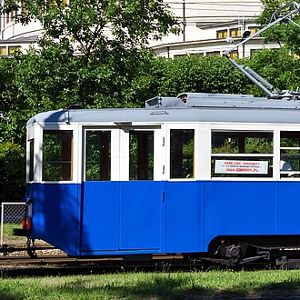 Noc muzeów – Zabytkowy tramwaj Konstal 4N1