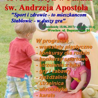 Festyn parafialny na Stabłowicach