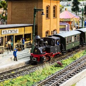 Kolejkowo - makieta kolejowa Wrocław