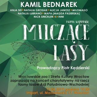 Koncert charytatywny ZOO Wrocław – Milczące Lasy