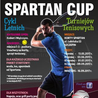 IV Turnieju Tenisa SPARTAN CUP
