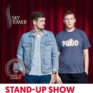 Stand-up w Sky Tower