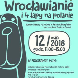 Wrocławianie i 4 łapy na polanie