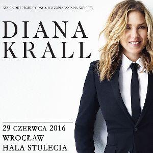 Diana Krall w Hali Stulecia