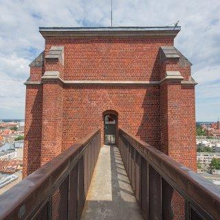 Mostek Pokutnic w katedrze św. Marii Magdaleny