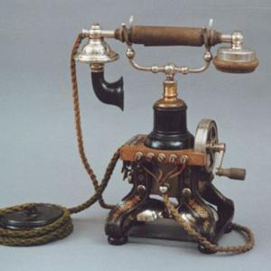 Telegraf i telefon