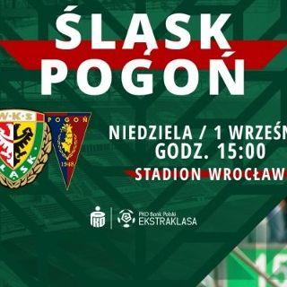 PKO BP Ekstraklasa: WKS Śląsk Wrocław vs. Pogoń Szczecin
