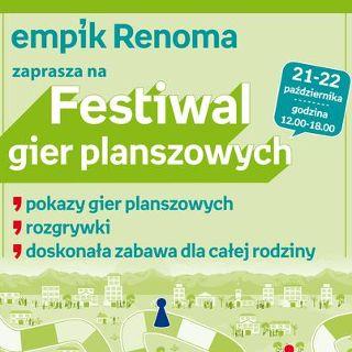Festiwal Gier Planszowych – Empik Renoma
