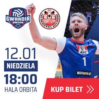 I liga siatkówki: KFC Gwardia Wrocław vs. UKS Mickiewicz Kluczbork