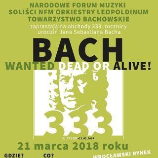 Bach w mieście – 333. urodziny J.S. Bacha