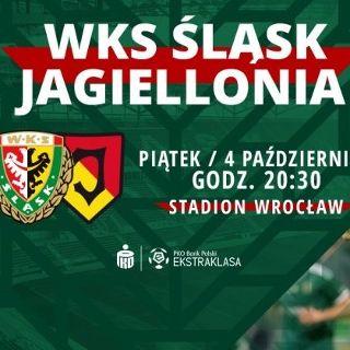 PKO BP Ekstraklasa: WKS Śląsk Wrocław vs. Jagiellonia Białystok