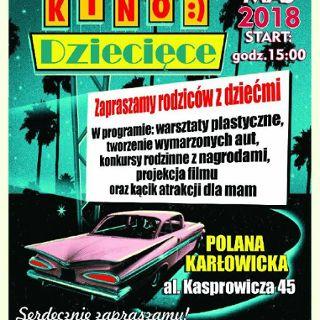 III Samochodowe Kino Dziecięce na Polanie Karłowickiej