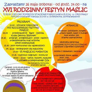 XVI Rodzinny Festyn Maślic