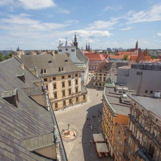 Mathematischer Turm der Universität Wrocław
