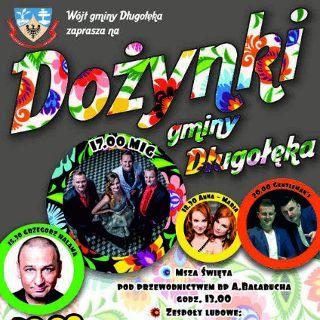 Dożynki gminne w Długołęce
