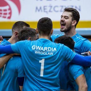 I liga mężczyzn: KS Gwardia Wrocław – MKS Ślepsk Suwałki