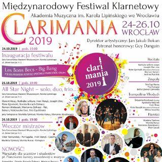 Festiwal Clarimania 2019