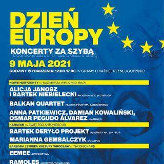 Koncerty zza szyb: Dzień Europy we Wrocławiu