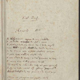 Prezentacja rękopisów Juliusza Słowackiego