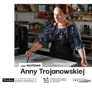 Litografie Anny Trojanowskiej w galerii Sztuka na miejscu