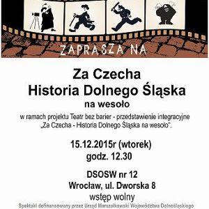 """""""Charlie za Czecha – historia Wrocławia i Dolnego Śląska na wesoło"""