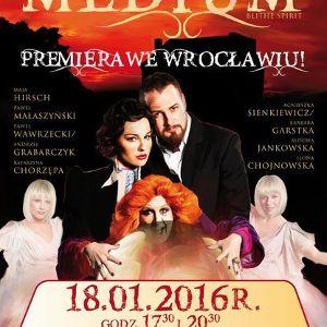 "Premiera sztuki ""Medium"" we Wrocławiu"