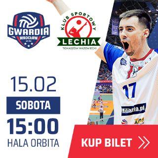 I liga siatkówki: KFC Gwardia Wrocław vs. Lechia Tomaszów Mazowiecki