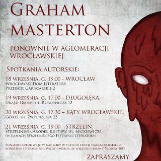 Spotkanie z Grahamem Mastertonem we Wrocławskim Domu Literatury