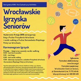 Bieg o Puchar Prezydenta Wroc ławia - otwarcie Wrocławskich Igrzysk Seniorów