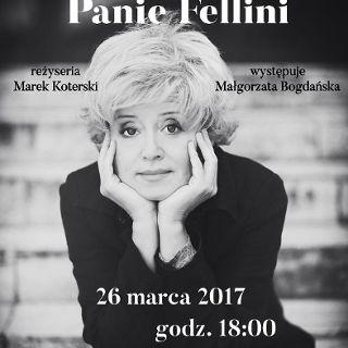 Nie lubię pana, Panie Fellini - Marek Koterski i Małgorzata Bogdańska w CK ZAMEK