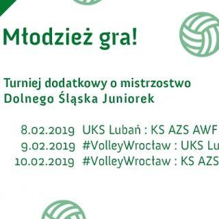 Siatkówka: Turniej o mistrzostwo Dolnego Śląska Juniorek