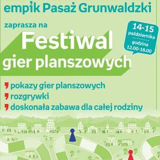 Festiwal Gier Planszowych – Empik Pasaż Grunwaldzki