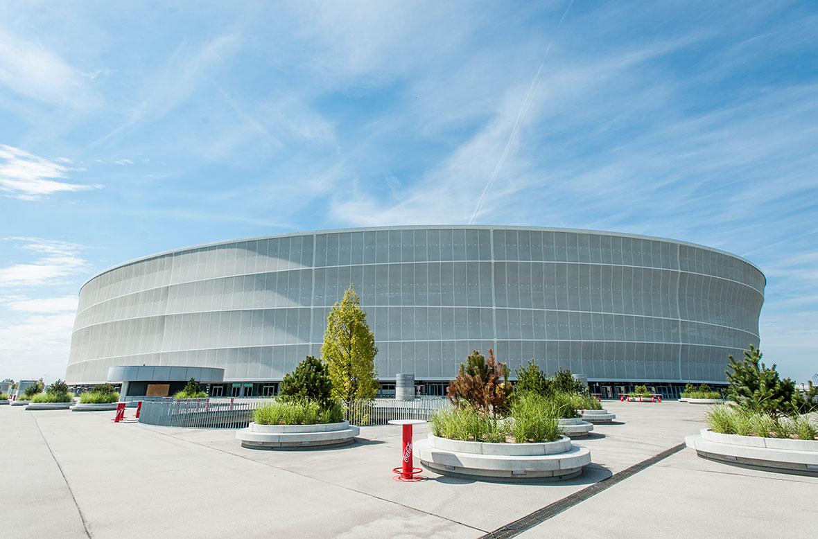 Znalezione obrazy dla zapytania stadion wrocław