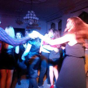 Taneczna impreza andrzejkowa