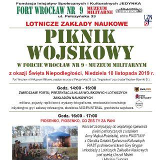 Piknik wojskowy w forcie Wrocław nr 9