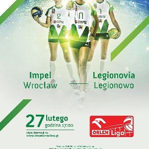 Impel Wrocław kontra Legionovia Legionowo
