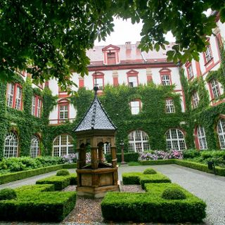 Monastery garden Ossolineum