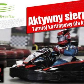 Wakacyjny  turniej kartingowy Le Mans