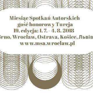 Miesiąc Spotkań Autorskich we Wrocławiu - gość honorowy Turcja