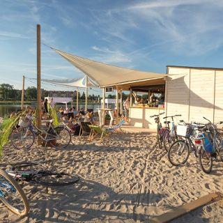 Basen Beach Bar Plaża miejska Pasterska