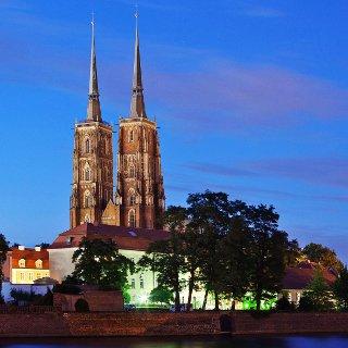 Die Kathedrale von Wrocław