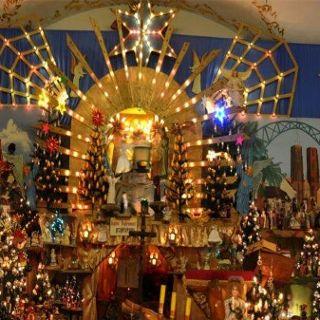 Ruchoma szopka w kościele Najświętszej Marii Panny Na Piasku