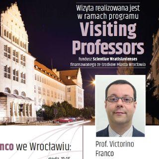 Visiting Professors – prof. Victorino Franco