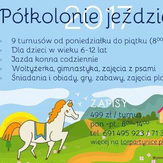 Półkolonie Jeździeckie na Partynicach