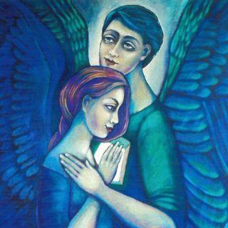 Anioły – wystawa prac Lilianny Lilu Batory