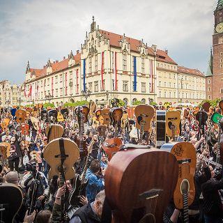 Gitarowy Rekord Świata we Wrocławiu