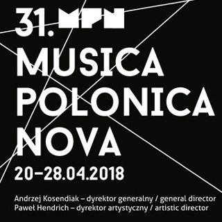 Festiwal Musica Polonica Nova w NFM