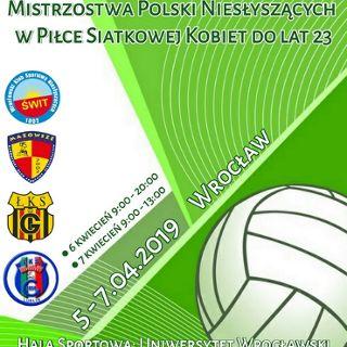 Mistrzostwa Polski Niesłyszących w Siatkówce Kobiet
